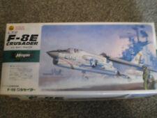 hasegawa F-8E Crusader 1/72 scale model kit NEW