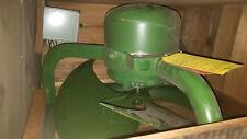 Vintage ILG ELECTRIC 103-024-AA Type Q Model 243 GREEN PROPELLER FAN IN CRATE