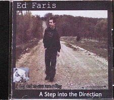 A Step into the Direction ~ Ed Faris ~ Bluegrass ~ Country ~ CD Album ~ Good