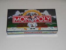 Vintage 1995 Parker Brothers MONOPOLY Deluxe Edition Board Game Gold Tokens Wood