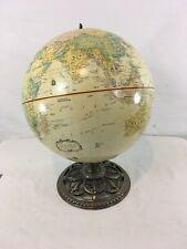 "Globemaster Bronze Cast Iron Metal Base 12"" Diameter Globe"