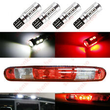 4pc 902 906 912 920 921 W16W 10-SMD LED Bulbs For Ford Chevy GMC