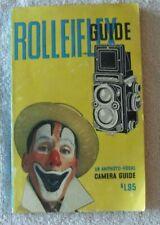 Rolleiflex- An Amphoto-Focal Camera Guide (1957)
