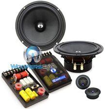 "Cdt Audio Es-62E 6.5"" Essence Component Speakers Crossovers Silk Tweeters New"