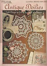 Antique Doilies Crochet Patterns Star Round Pineapple Styles Lucille La Flamme
