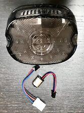 LED Rücklicht Flach Smoke Harley Davidson Dyna Softail Touring 99-17, e-Prüfung