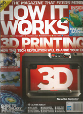 HOW IT WORKS MAGAZINE #57 APRIL 2014, 3D PRINTING HOW THIS TECH REVOLUTION