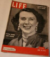 June 30, 1952 LIFE Magazine Nancy Kefauver 50s advertising adds FREE SHIPPING 6