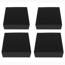 4 Pack High-density Needle Felting Mat for Felting Kit Black Foam 10x10x3cm