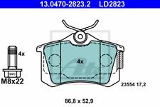 Bremsbelagsatz Scheibenbremse ATE Ceramic - ATE 13.0470-2823.2
