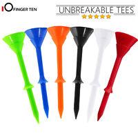 "Big Cup Plus 3-1/4"" Golf Tees Plastic Durable Golfer Training Aid Tool 30/60 Pcs"