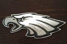 Philadelphia Eagles NFL Logo- Embroidered- Iron On Jersey Sleeve Patch 4 x 1 3/4