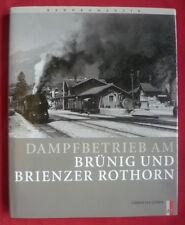 DAMPFBETRIEB AM BRÜNIG UND BRIENZER ROTHORN-CHRISTIAN LÜBER-SBB~CFF~FFS-