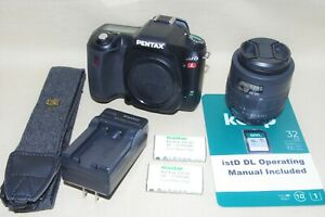 As-New istDL SC 642 Pentax Digital SLR +Lens +Accessories +30 Day Return