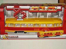 Technopark Tramway 1962 Tatra T3 Tram Prague GDR Street Car Strassenbahn 1/58