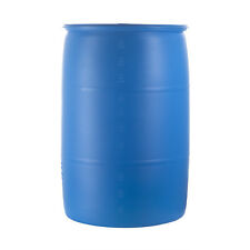 55 gallon blue plastic drums. Great for water storage.