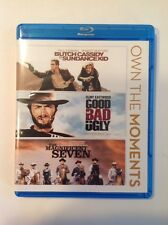 Butch Cassiday&The Sundance Kid/Good Bad & Ugly/Magnificent Seven (Blu-Ray,2012)
