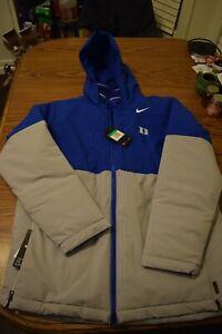 Mens XL Nike Shield On Field Apparel  Duke Blue Devils jacket.  $200 retail