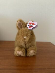 "Swibco Puffkins ""TIBBS"", the Rabbit Plush brown Bunny"