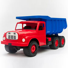XXL Kipper TATRA 148 blau/rot 72cm 100kg - DDR Retro Spielzeug - NEU
