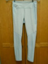 Outdoor Voices Striped Crop Leggings Womens Size XS