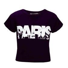 T-shirt violet pour fille de 7 à 8 ans
