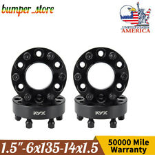 6x135 Wheel Spacers 15inch Hubcentric 6 Lug For Ford F150 Expedition Navigator Fits Ford