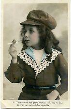 POSTCARD / CARTE POSTALE / LOT 5 CARTES FANTAISIE CHILD / ENFANT FUMANT / TABAC