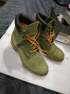 Timberland boots men 9 Green