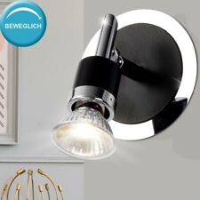 2er Set LED Wand Leuchten Esszimmer Chrom Lampen Glas Kugel Strahler beweglich