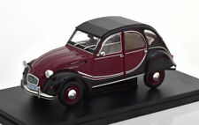 1:24 Fabbri Editori Citroen 2 CV Charleston 1982 darkred/black