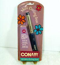 "Conair Mini Curling Iron Travel Dorm 5/8"" Ready Dot Cool Tip Tangle Free NEW"