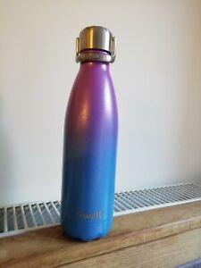 NEW S'well Artemis Purple Blue ombre Metal water Bottle flask £35 sports lid