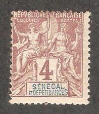 Senegal 1892,Navigation & Commerce 4c,Scott # 37,VF MNH** (FC-4)