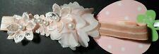 baby/girls hair bow/headband/hairband hair garland/bridal/babyshower/christening