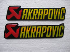 Aufkleber Sticker Tuning Akrapovic Racing Motorsport Biker Motorrad FX Race GT