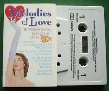Melodies Of Love 50s Kitty Kallen Pat Boone Peggy Lee + Cassette Tape - TESTED