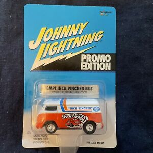 Johnny Lightning Volkwagen VW EMPI inch pincher bus