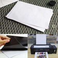 10x Glossy Magnetic Magnet Inkjet Print A4 Paper Sheet for Fridge Whiteboard AU