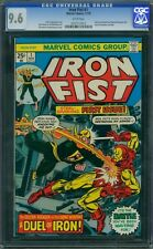 Iron Fist 1 CGC 9.6 - White Pages