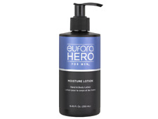 Eufora Hero For Men Moisture Lotion Hand And Body Lotion 8.45oz NIB!!