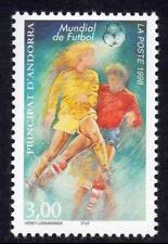 ANDORRA(FRENCH) MNH 1998 SGF541 World Cup Football Championships