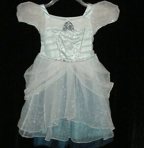 EUC Disney Parks PRINCESS CINDERELLA Castle Collection Dress Costume Size 3