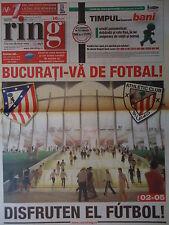 Matchday Newspaper UEFA EL Finale 9.5.2012 Atletico Madrid - Athletic Bilbao