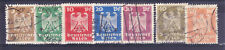 Germany Deutsches Reich 1924 Mi. Nr. 355-361 New Eagle Definitives USED