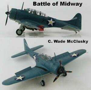 Hobby Master 1/72 HA0174 Douglas SBD-3 USN, C. Wade McClusky, Battle of Midway