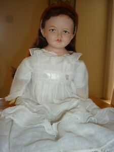 """Antique WWI English bisque doll- """"Laurie English Make"""""""