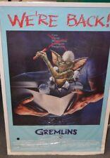 Original (!!) Gremlins Movie Poster (1984)
