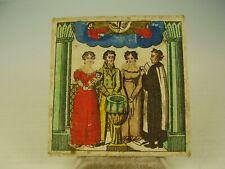 Antiker seltener Biedermeier Taufbrief Handkoloriert von 1831