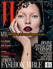 W 3/12,Kate Moss,Cover 1 of 2,March 2012,NEW
